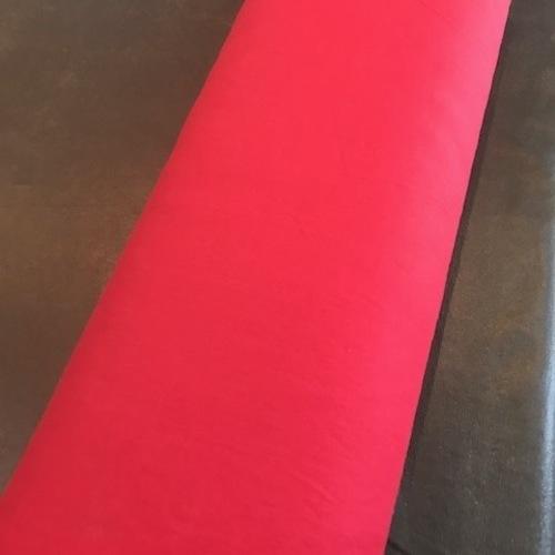 お待たせしました。在庫切れしていた真っ赤なリネン再入荷しました。