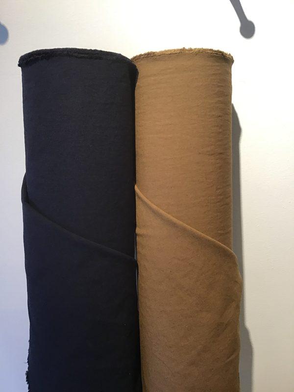 綿/ヘンプハイカウントウェザー生地新色が入荷しました。
